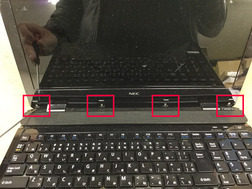 PC-NS350BAB 液晶修理 4