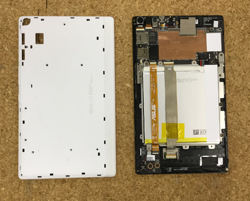 Z380KL 液晶修理 5