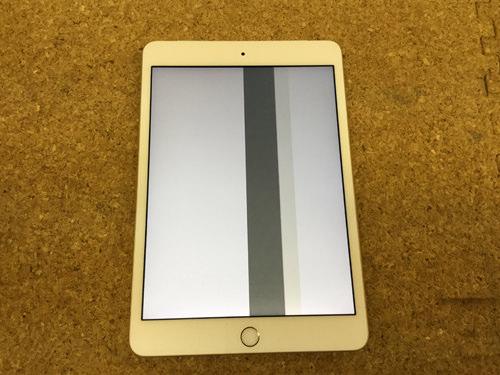 iPad Mini 3 画面に線