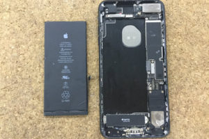 iPhone7Plus バッテリー交17