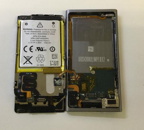 ipod nano 第7世代 分解12