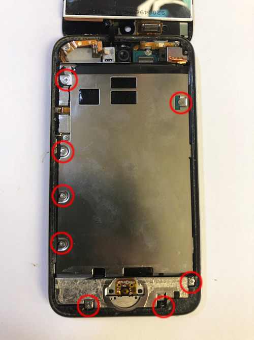 iPod touch 第4世代 液晶交換 5