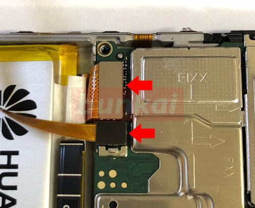 HUAWEI nova lite 2 液晶修理・分解方法 14