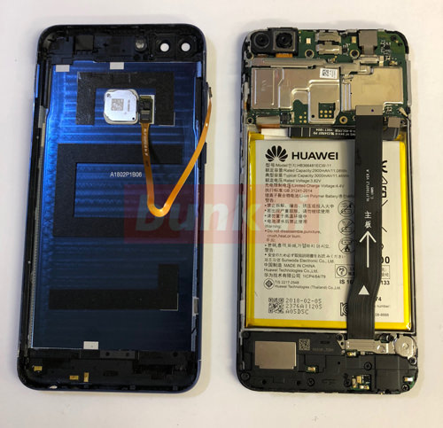 HUAWEI nova lite 2 液晶修理・分解方法 15