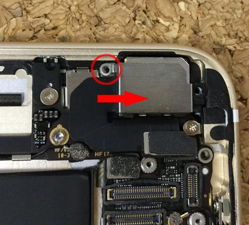 iPhone6sPlus カメラ交換.分解方法7