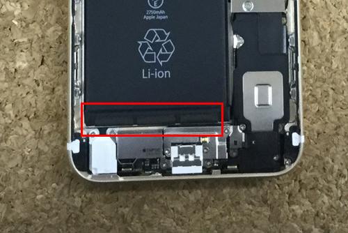 iPhone6sPlus バッテリー交換.分解方法9