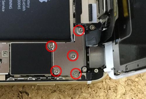 iPhone6sPlus バッテリー交換.分解方法6