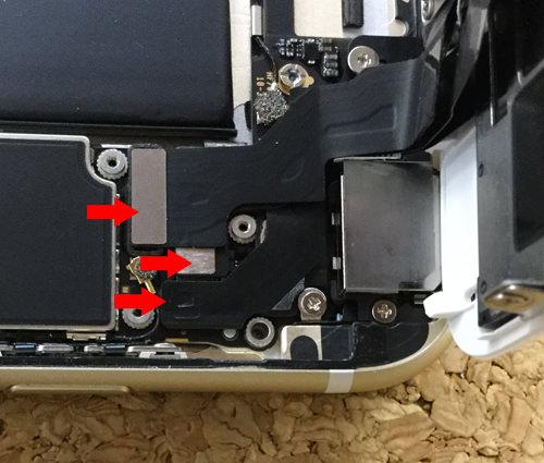 iPhone6sPlus バッテリー交換.分解方法7
