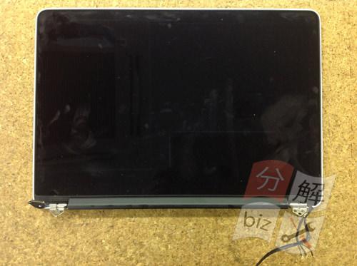 Macbook Pro Retina A1502 液晶交換方法13