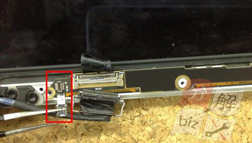 Macbook Pro Retina A1502 液晶交換方法21