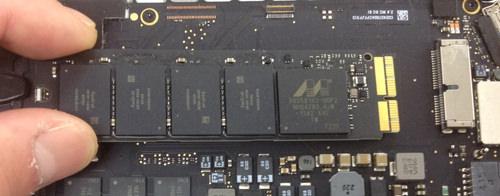 MacbookProRetina A1502 SSD交換方法6