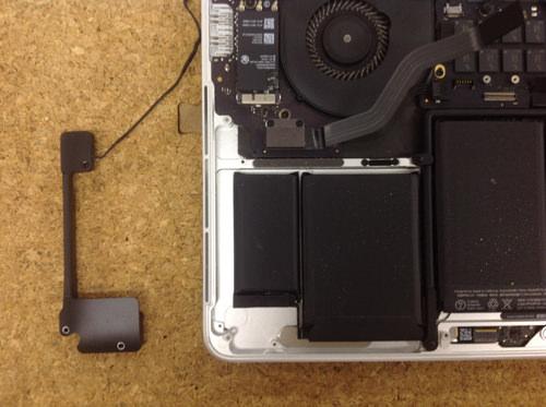 MacbookProRetina A1502 スピーカー交換方法8