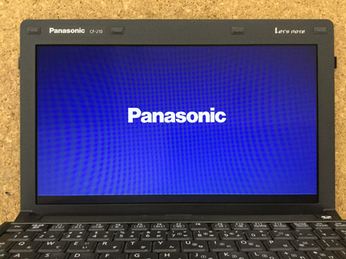 Panasonic CF-J10 分解方法8