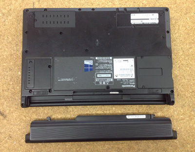 Panasonic CF-SX3 分解方法2