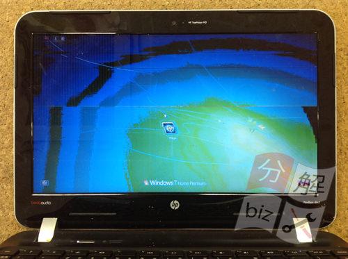 HP Pavilion dm1 分解方法1
