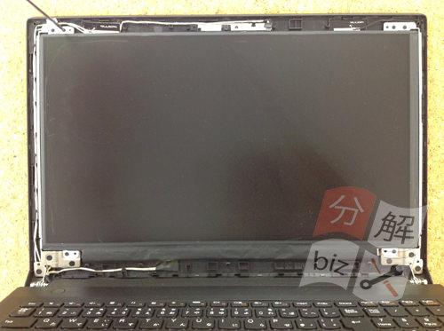 Lenovo B50 分解方法4