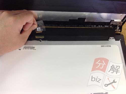 Lenovo B50 分解方法5