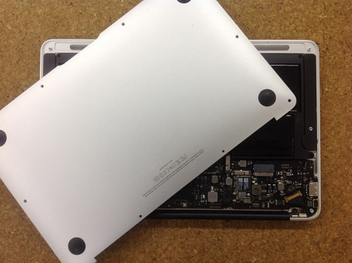 MacbookAir A1370 FAN交換 方法3