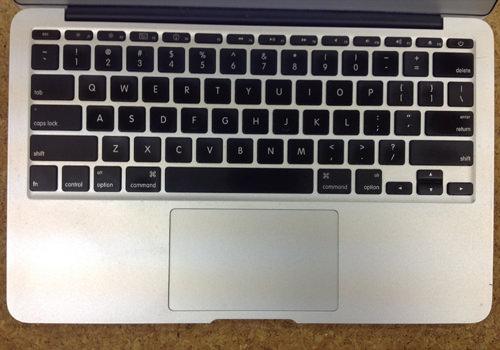 MacbookAir A1370 キーボード交換 方法1