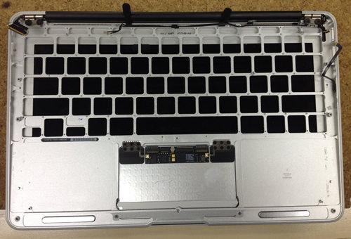 MacbookAir A1370 キーボード交換 方法6