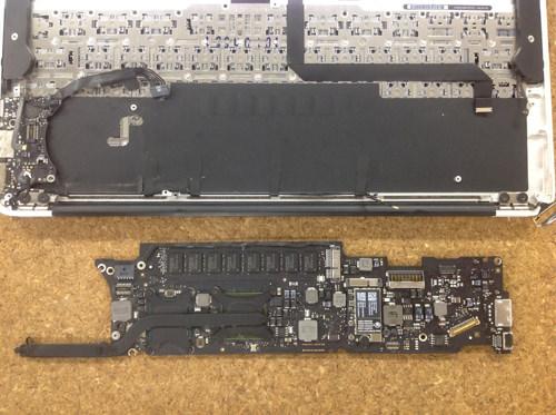MacbookAir A1370 ロジックボード交換 方法20