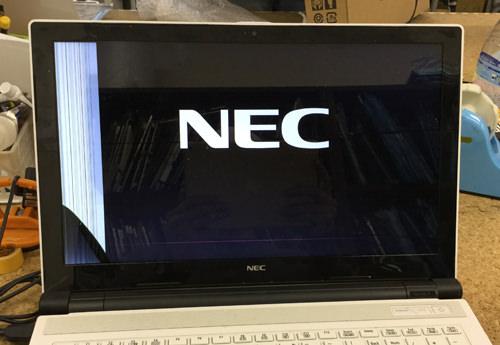 NEC PC-NS150FAW 分解方法1