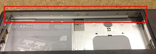 macbook A1181 キーボード交換方法11
