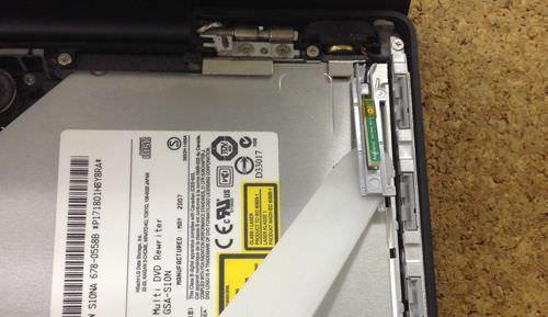 macbook A1181 ドライブ交換方法4