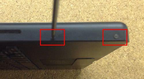 macbook A1181 キーボード交換方法5