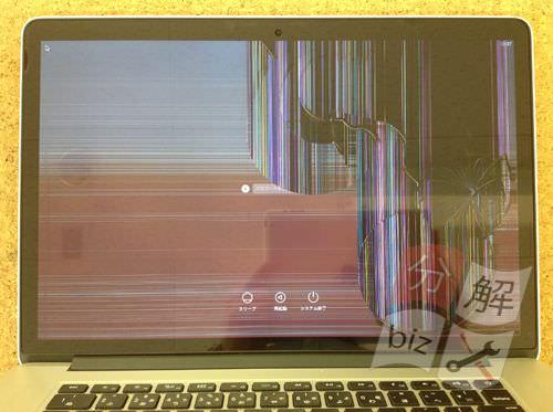 Macbook Pro Retina A1398 液晶交換方法1