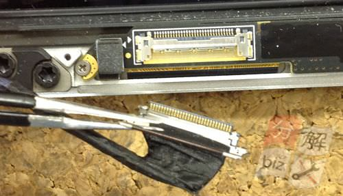 Macbook Pro Retina A1398 液晶交換方法19