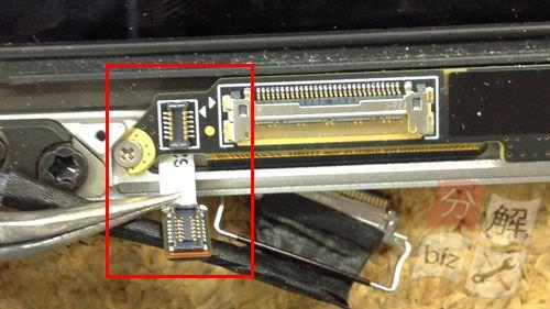 Macbook Pro Retina A1398 液晶交換方法20