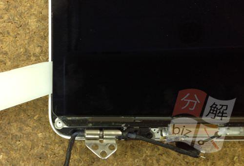 Macbook Pro Retina A1398 液晶交換方法27