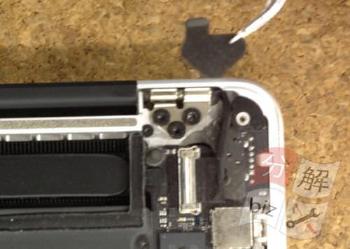 Macbook Pro Retina A1398 液晶交換方法5