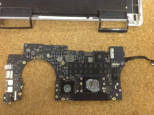 Macbook Pro Retina A1398 ロジックボード交換方法24