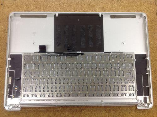 Macbook Pro Retina A1398 キーボード交換方法6