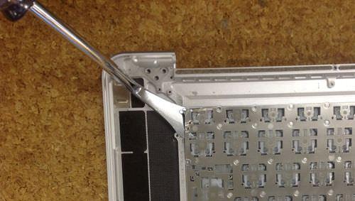 Macbook Pro Retina A1398 キーボード交換方法9