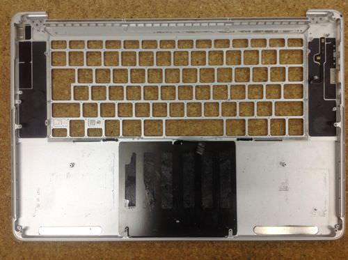 Macbook Pro Retina A1398 キーボード交換方法10