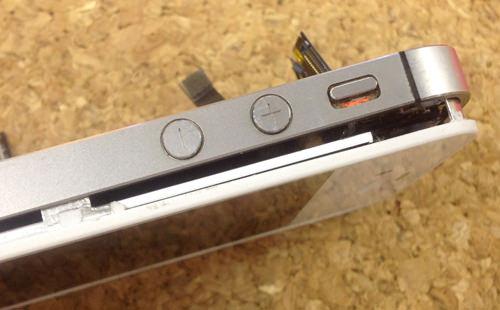 iPhone4s 液晶ガラス、パネル交換方16