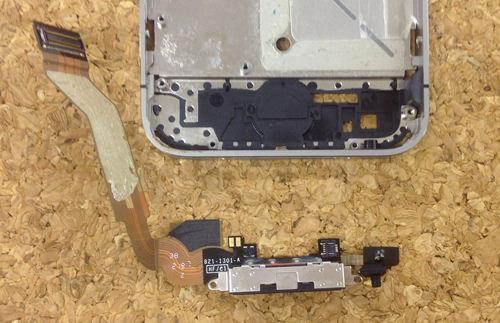 iPhone4s ドックコネクター交換方法6
