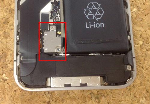 iPhone4s バッテリー交換方法4