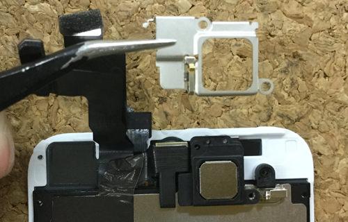 iPhoneSE フロントカメラ交換.分解方法3