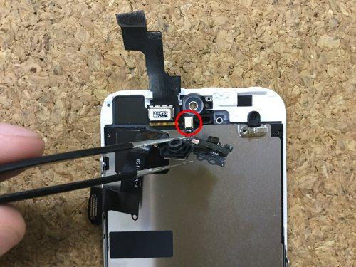 iPhoneSE 液晶交換.分解方法20