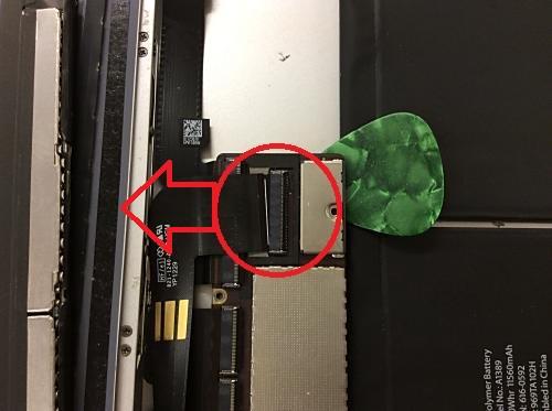 ipad2ドックコネクター交換6