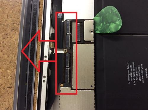 ipad2ドックコネクター交換9