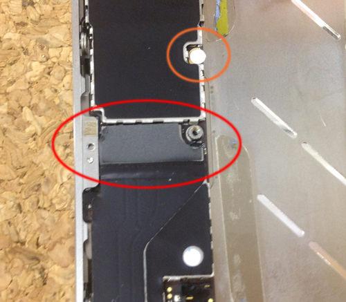 iphone4 液晶ガラス、パネル交換方法6