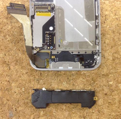 iphone4 ラウドスピーカー交換方法6