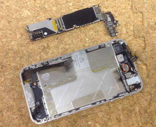 iphone4 ロジックボード交換方法6