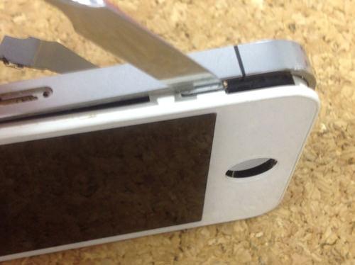 iphone4 液晶ガラス、パネル交換方法15