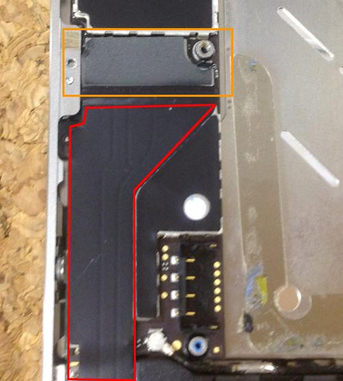 iphone4 ラウドスピーカー交換方法3